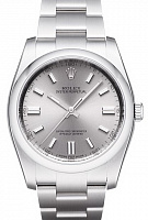 Rolex 116000 Oyster Perpetual 36 Rhodium Dial