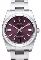 Rolex 116000 Oyster Perpetual 36 Red Grape Dial