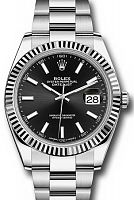 Rolex 126334 Datejust 41 Black Index Oyster