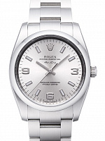Rolex 114200 Oyster Perpetual 34 Silver Dial