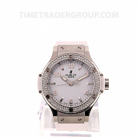 Hublot Big Bang Steel White Diamonds 38mm 361.SE.2010.RW.1104