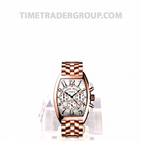 Franck Muller Chronograph Rose Gold Strap 8880 CC AT