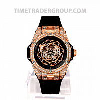 Hublot Big Bang Sang Bleu King Gold Pave 39mm 465.OS.1118.VR.1704.MXM18