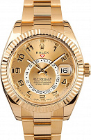 Rolex 326938 Sky-Dweller Champagne Dial