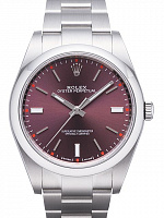 Rolex 114300 Oyster Perpetual 39 Red Grape Dial