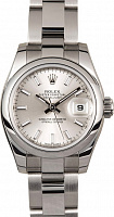 Rolex 179160 Lady-Datejust 26 Silver Index Oyster