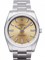Rolex 114200 Oyster Perpetual 34 Champagne Dial