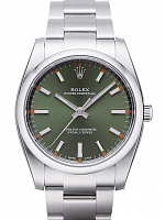 Rolex 114200 Oyster Perpetual 34 Olive Dial