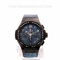 Hublot Big Bang Jeans Ceramic Black Diamonds 41mm L.E. 341.CX.2740.NR.1200.Jeans