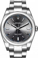 Rolex 114300 Oyster Perpetual 39 Rhodium Dial