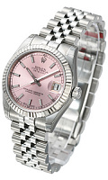Rolex 178274 Datejust 31 Pink Index Jubilee