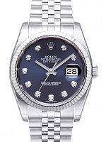 Rolex 116234 Datejust 36 Blue Diamond Jubilee