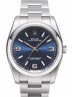 Rolex 116000 Oyster Perpetual 36 Blue Dial