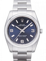 Rolex 114200 Oyster Perpetual 34 Blue Dial