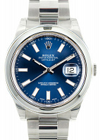 Rolex 116300 Oyster Perpetual Datejust II Blue Dial